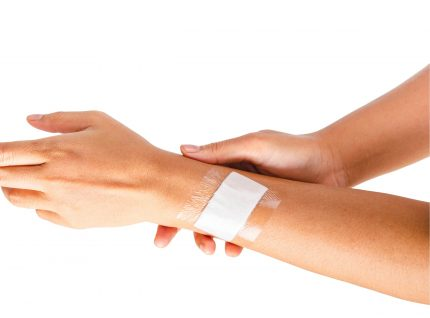 Skin Contact Medical Grade Adhesive Tape